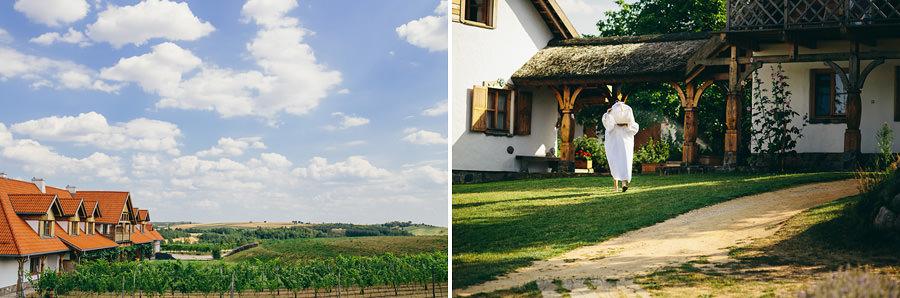 slub w Gleboczek Vine Resort & Spa