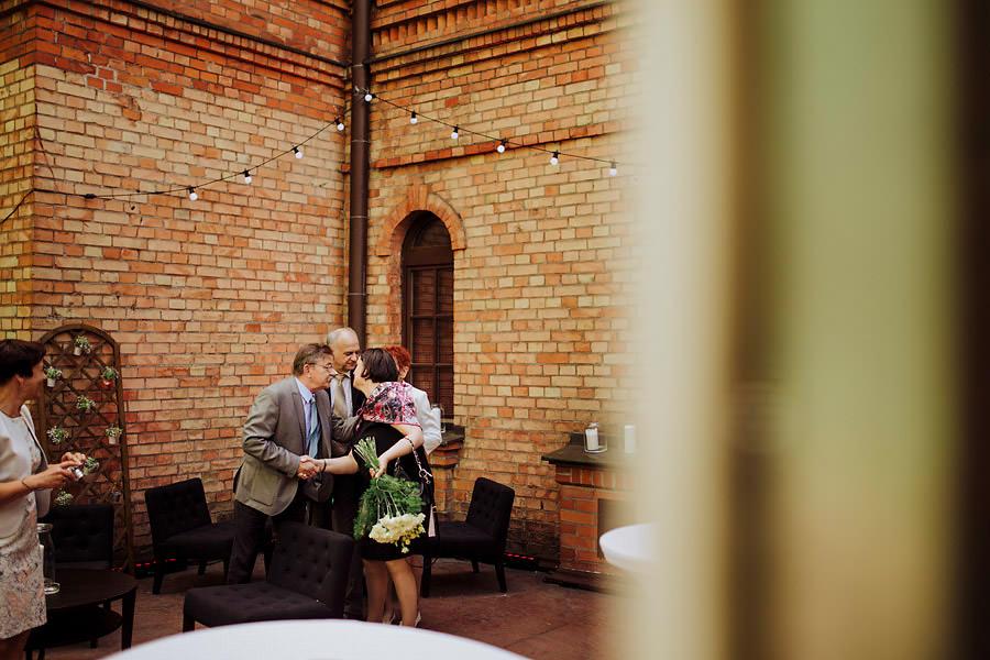 ślub w klubie bankowca