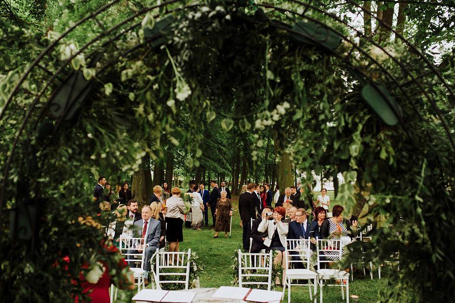 Pałac Pstrokonie ślub