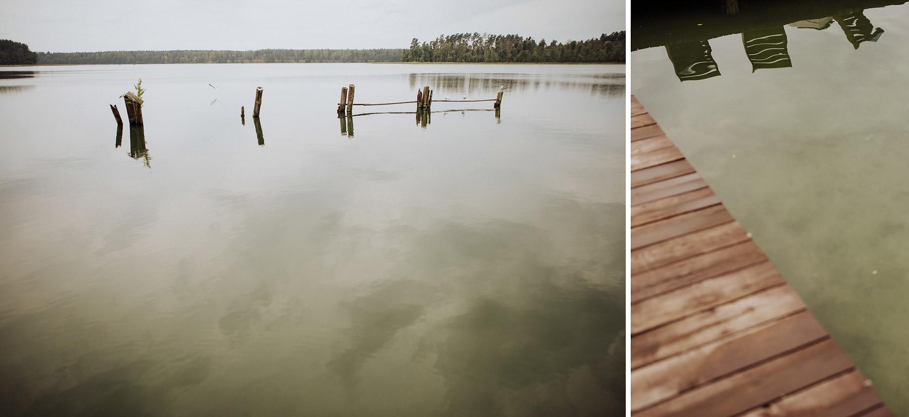 ślub nad jeziorem detale