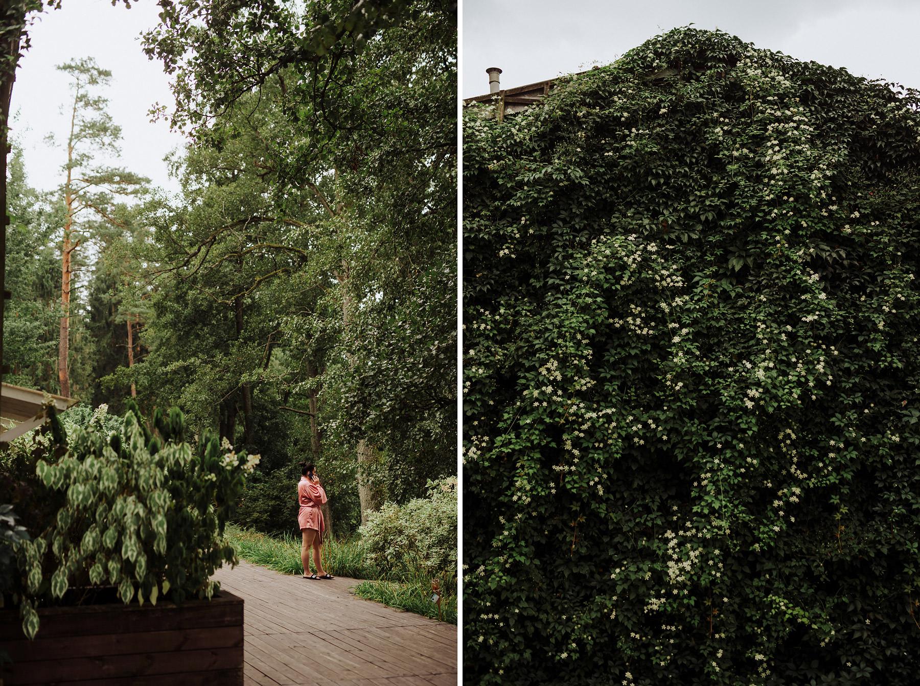ślub greenery przygotowania