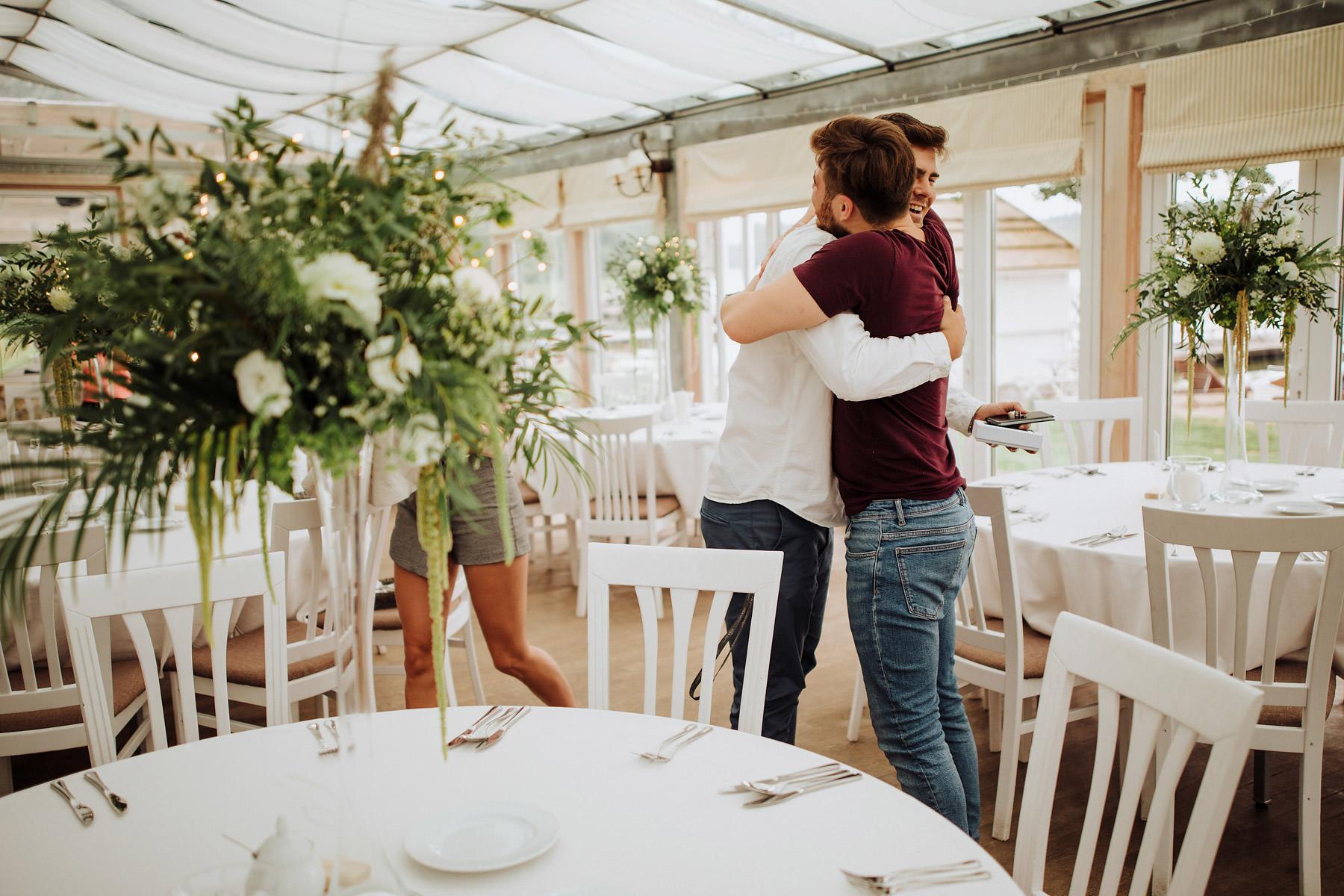 Jabłoń Lake Resort ślub przygotowania