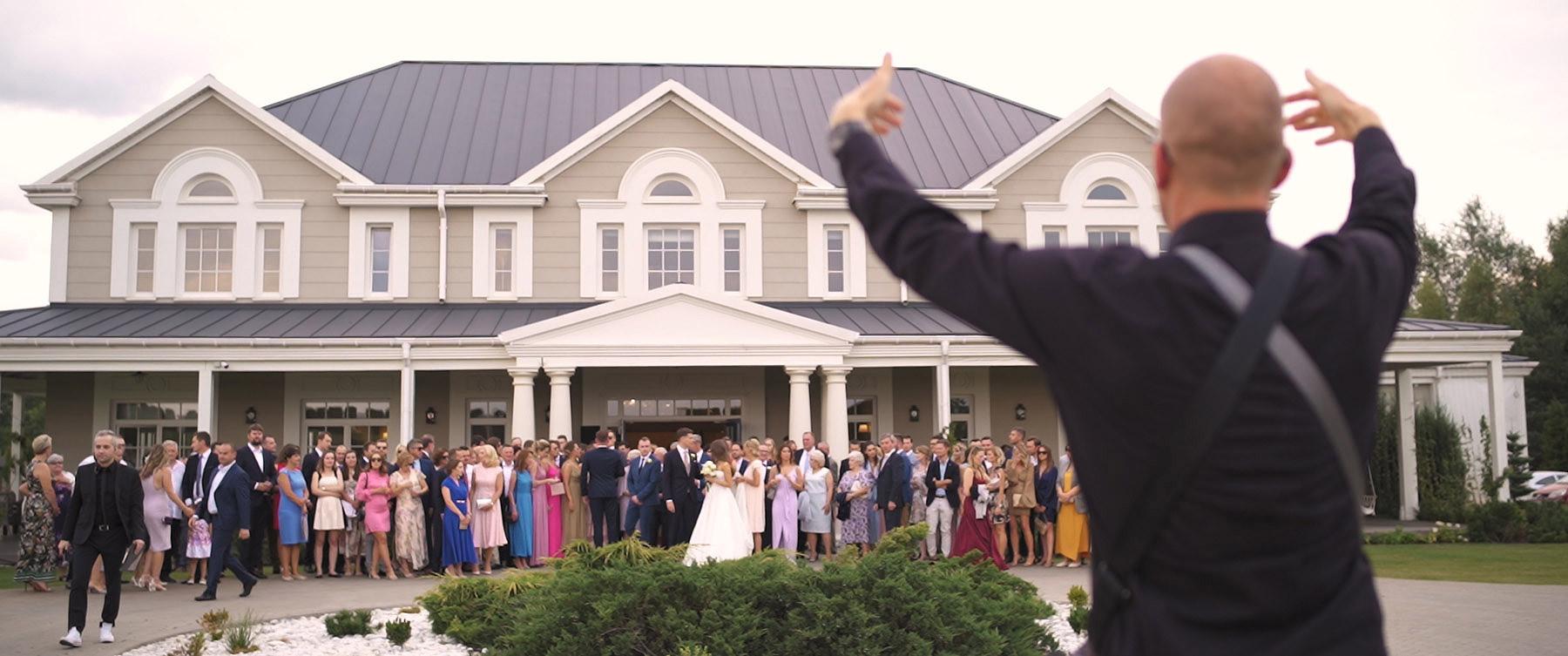 wesele w rezydencji miętowe wzgórza film ślubny warszawa