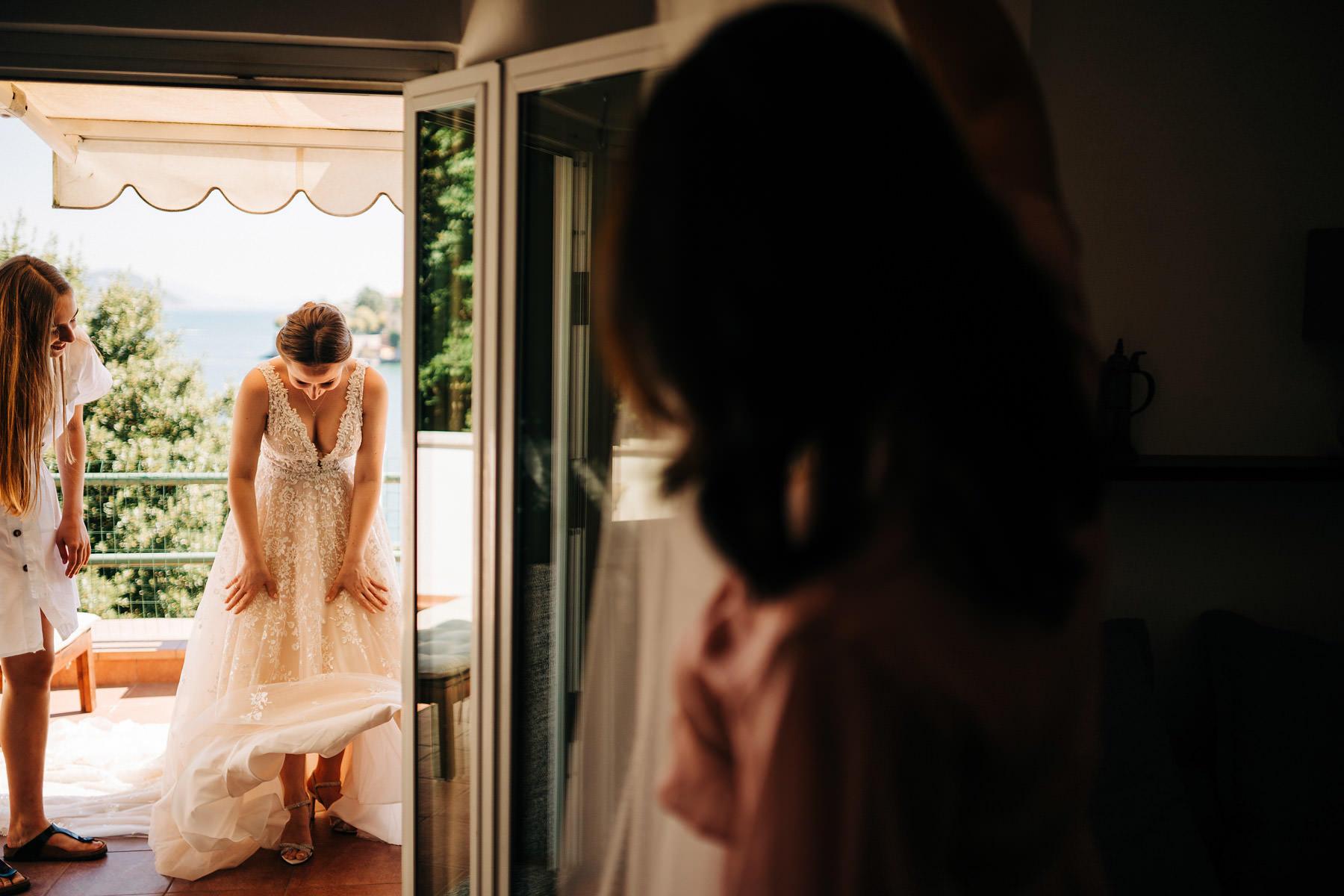 ślub we włoszech przygotowania panny młodej