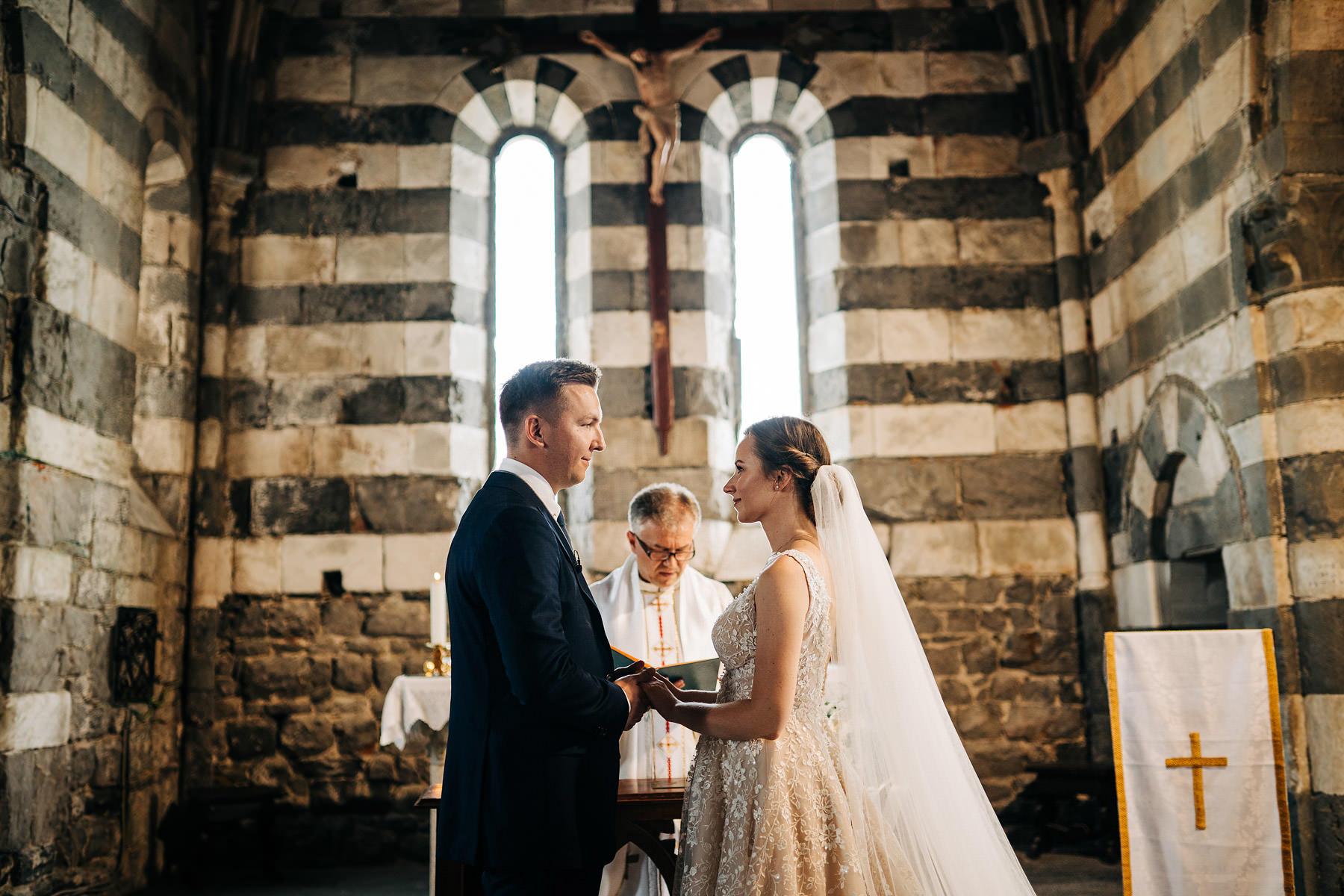 ślub w portovenere ceremonia