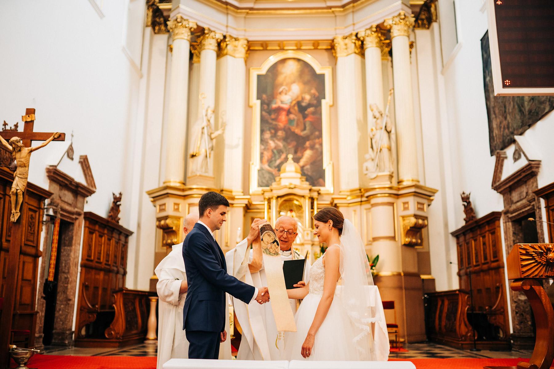 kościół ojców paulinów ślub
