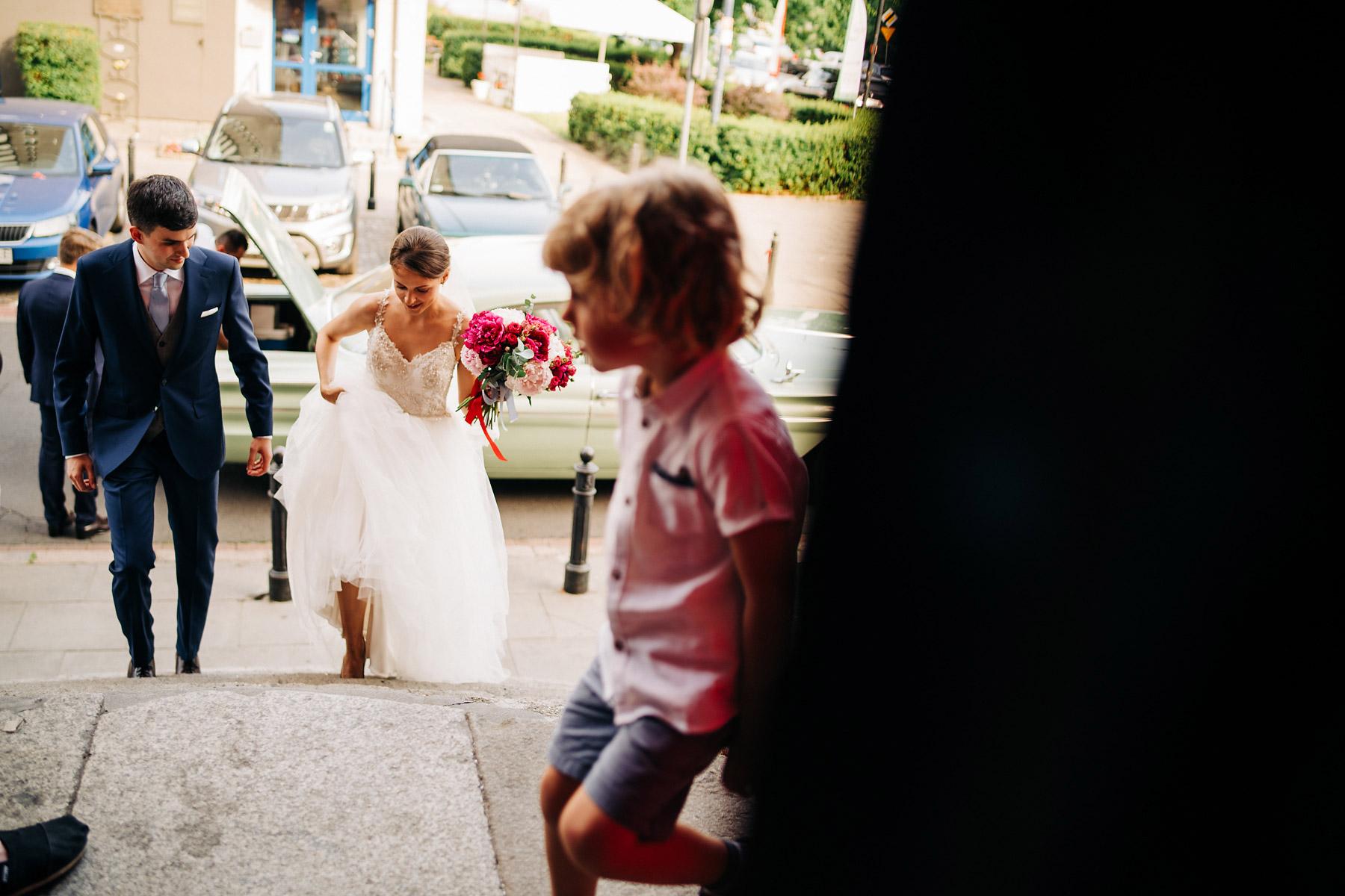ślub w centrum warszawy