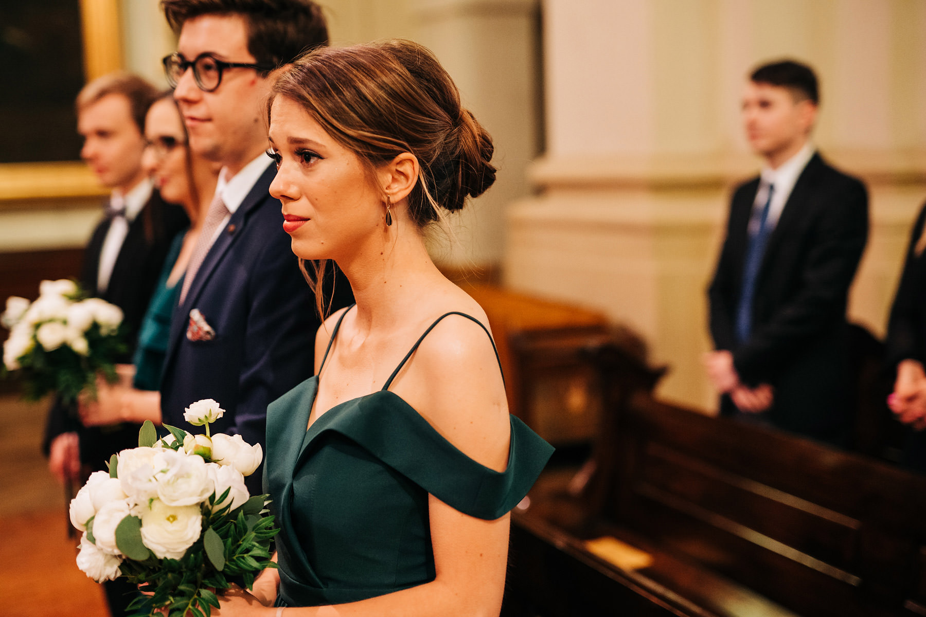 ceremonia ślubna w kościele