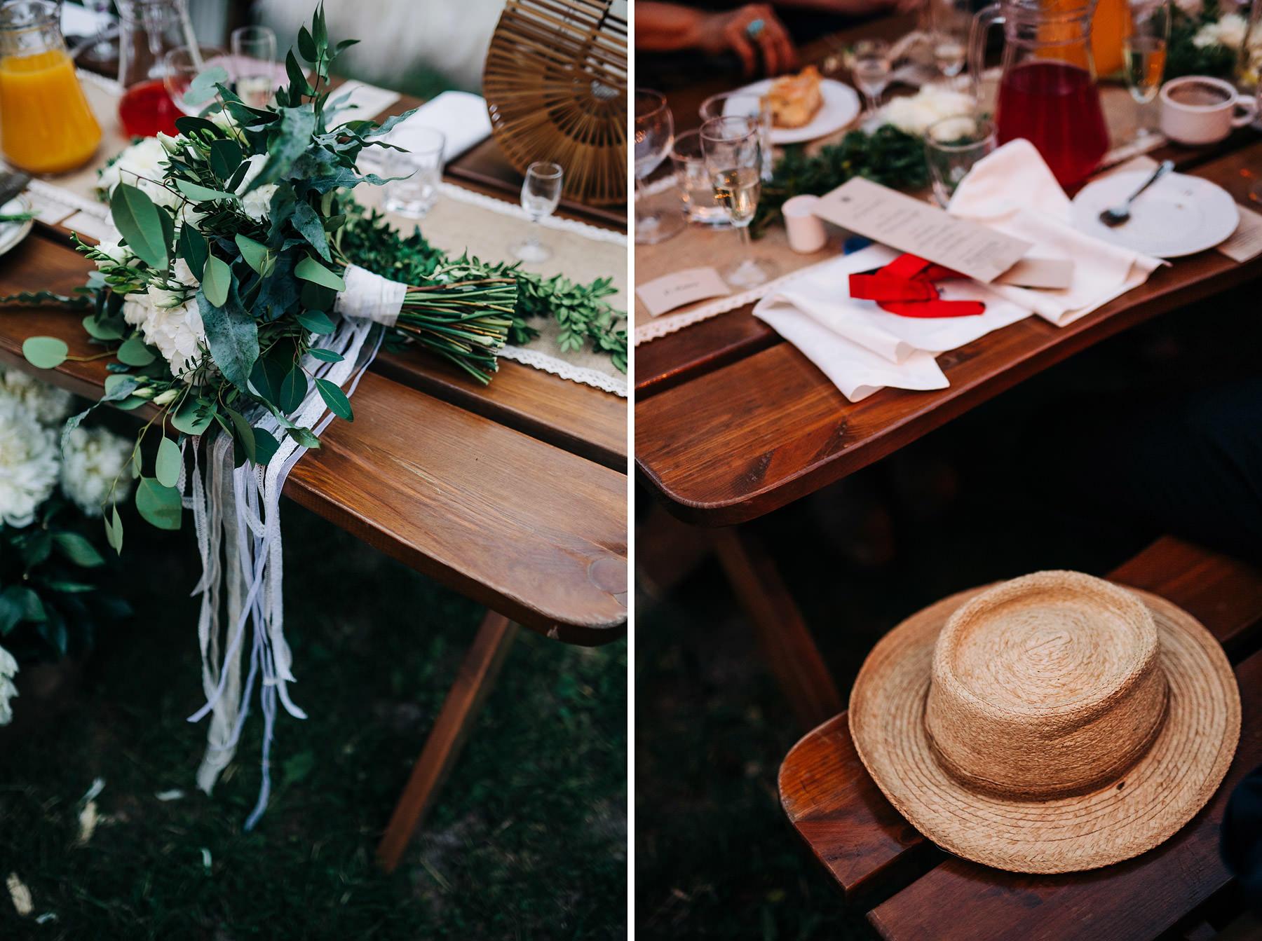 wesele plenerowe dekoracje