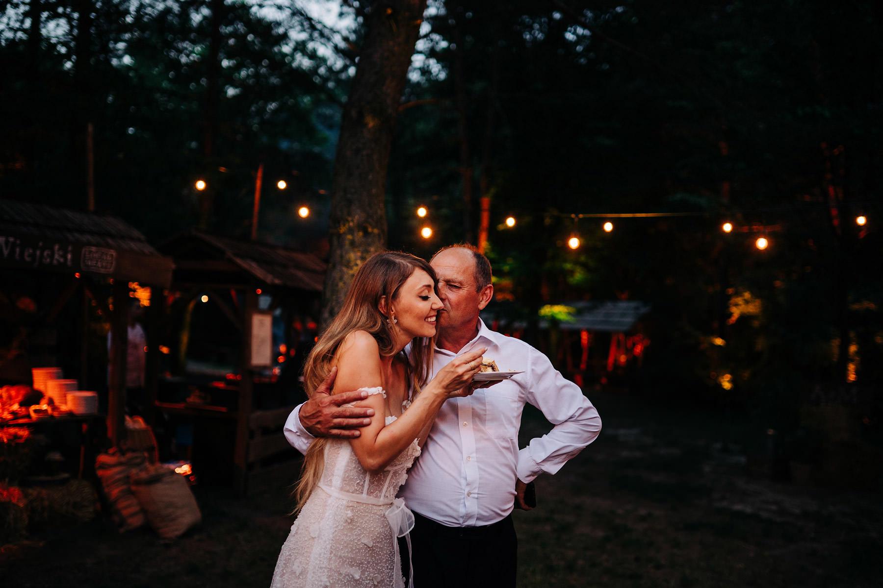 wesele pod gołym niebem