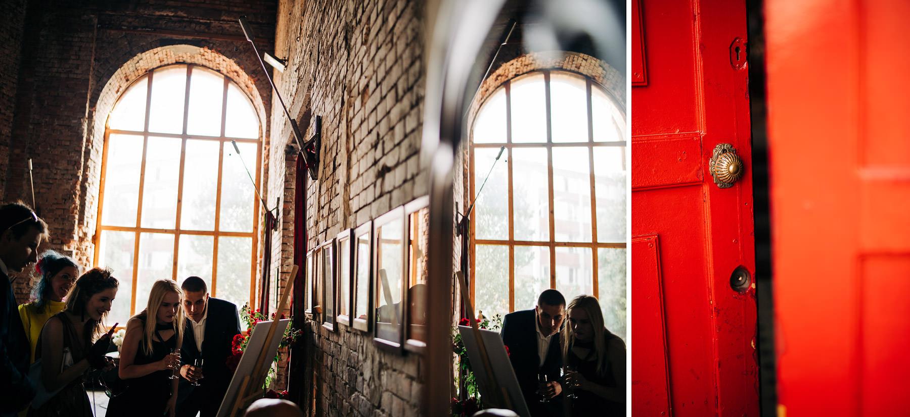 wesele w stylu industrialnym reduta banku polskiego