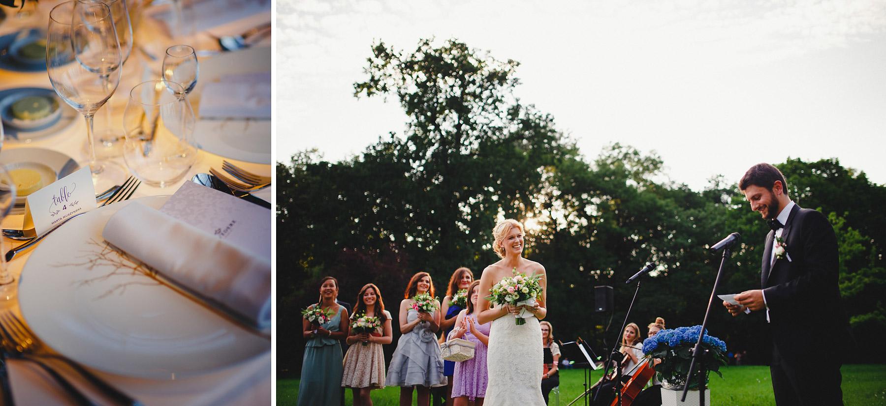ślub w plenerze belvedere