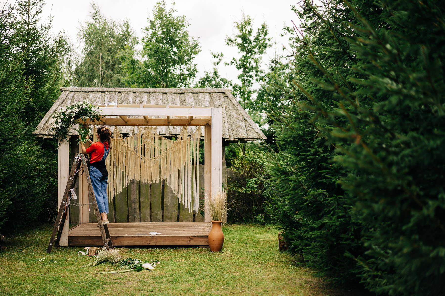 ogród babette altana