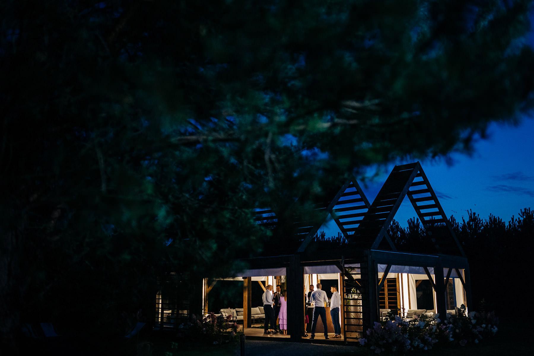 ogród babette wesele pod gołym niebem